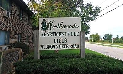 Northwoods Apartments, 1