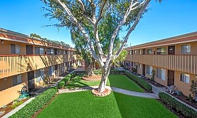 Building, Village Green Apartments, 1