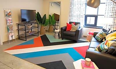 Living Room, The Abigail, 1