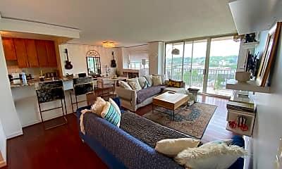 Living Room, 1225 Martha Custis Dr 1216, 0