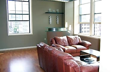 Living Room, Holling Place Apartments, 1
