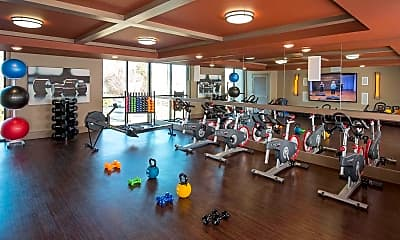 Fitness Weight Room, The Edge At Midtown, 2