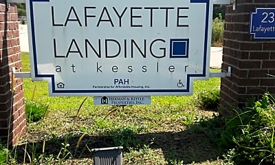 Lafayette Landing at Kessler, 1