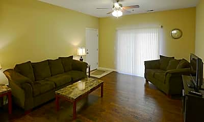 Living Room, Weinbach Manor Apartments, 1