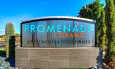 Community Signage, Promenade at Grand, 2