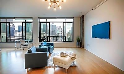 Living Room, 1111 S Grand Ave 1010, 1