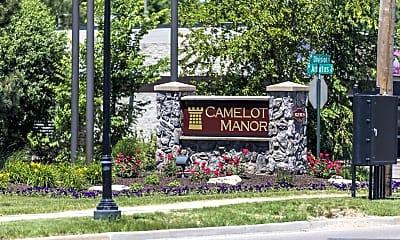 Community Signage, Camelot Manor, 0