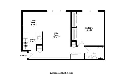 Building, 5633 N Winthrop Ave, 1