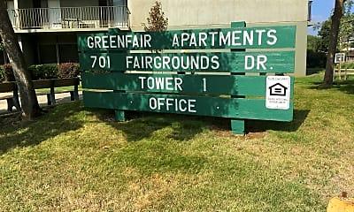 Greenfair Apartments, 1