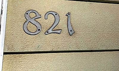 Bedroom, 821 Wellington St, 0