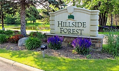 Community Signage, Hillside Forest, 1