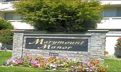 Community Signage, 1321 Marshall St, 0