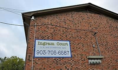 Community Signage, 11101 Ingram St, 1