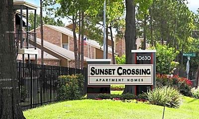 Community Signage, Sunset Crossing, 2