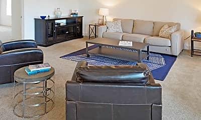 Living Room, The University Flats, 1