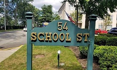 Community Signage, 54 School St 309, 1