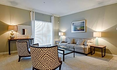 Living Room, Champions Centre Apartments, 1