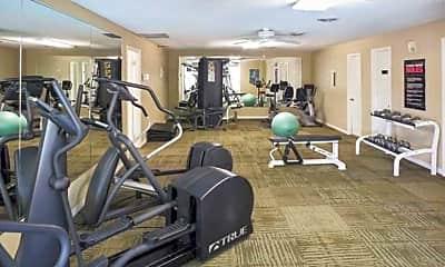 Fitness Weight Room, Monaco Park, 2