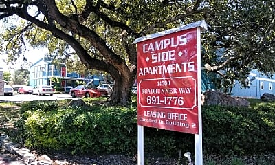 Campus Side Apartments, 1