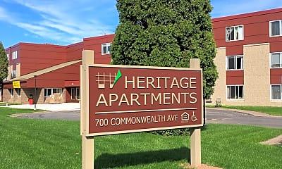 Heritage Apartments, 1