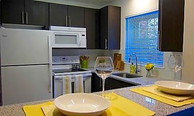 Kitchen, Spruce Court Apartments, 0