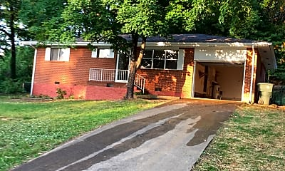 front garage, 7644 Mallette Rd, 1