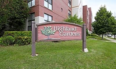Community Signage, Highland Gardens, 1