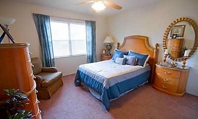 Bedroom, Camelot Apartments, 2