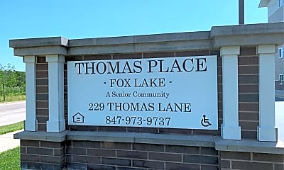 Thomas Place - Fox Lake, 1