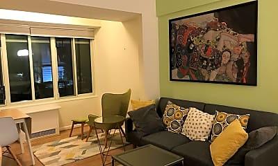 Living Room, 1727 Massachusetts Ave NW 203, 0