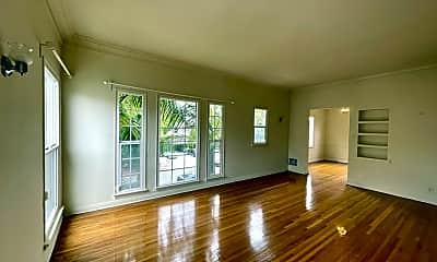 Living Room, 6127 Alcott St 1/2, 1