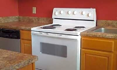 Kitchen, Twin Pines Apartments, 1