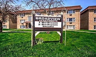 Community Signage, Broadview Apartments, 2