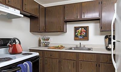 Kitchen, Creek Hill, 1