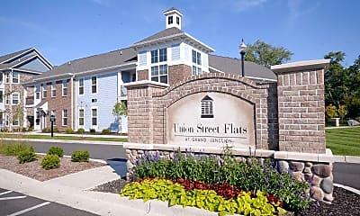 Community Signage, Union Street Flats Apartments, 2
