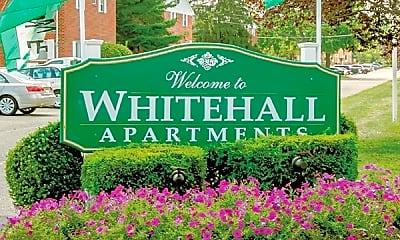 Community Signage, Whitehall Apartments, 0