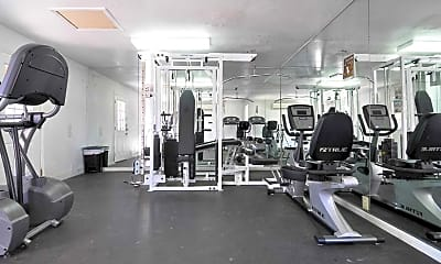 Fitness Weight Room, Ashford Pointe, 2