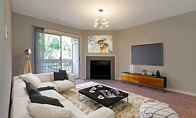 Living Room, Cove at Matthews, 2