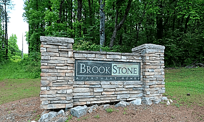Community Signage, Brookstone Apartments, 0