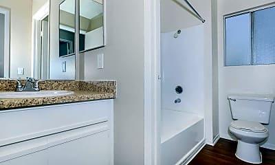 Bathroom, Club Pacifica Apartment Homes, 2