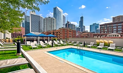 Pool, Echelon Chicago, 1