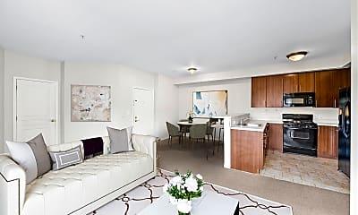 Living Room, 845 Newark Ave 2D, 1