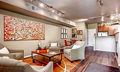 Living Room, Maple Leaf Apartments, 0