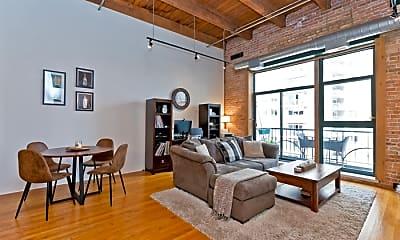 Living Room, 1133 S Wabash Ave, 0