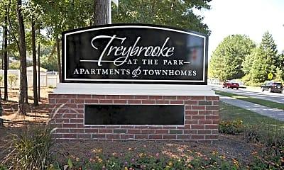 Community Signage, Treybrooke at the Park, 2