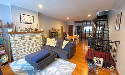Living Room, 1531 S Camac St, 1