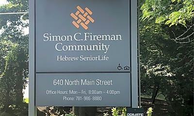 Simon C Fireman Community, 1