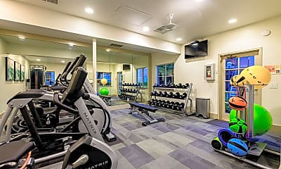 Fitness Weight Room, El Paseo Apartment Homes, 2
