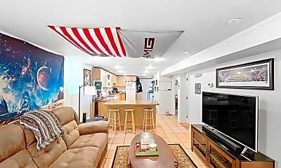 Living Room, 42 Brainerd Road, Unit B, 2