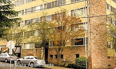Building, 401 E Mercer St, 1